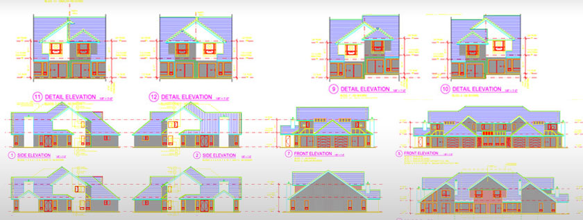 2D Architectural Drafting Service