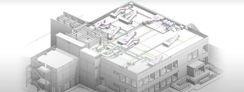 Architectural 3D BIM Modeling Service