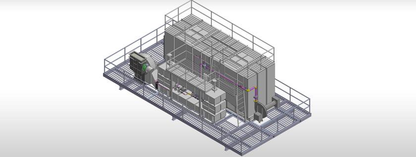 3D Footing Design Model