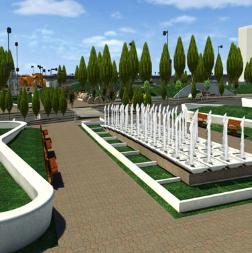 3D Model of Public Park