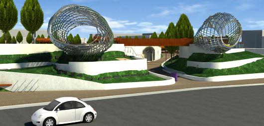 3D BIM for Public Park