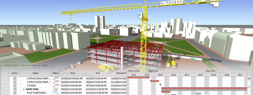 4D Construction Scheduling
