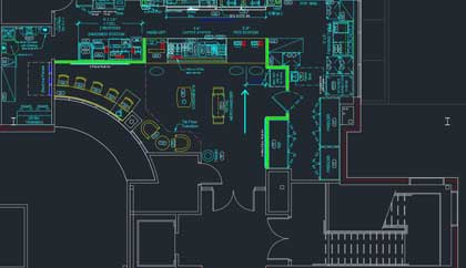 Architectural Plan for Office