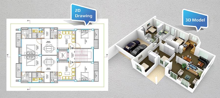 2D Drawings vs 3D Model