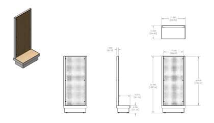 Display Furniture Drawing