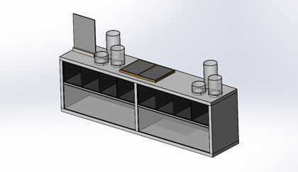 Office Furniture Cabinets Model