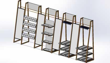 Retail Display Furniture Design