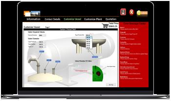 Pressure Tank Configurator using DriveWorks