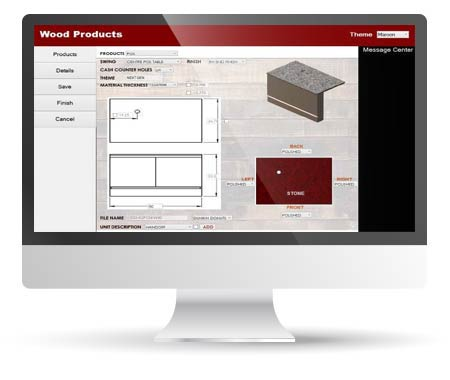 Design Automation for a Metal & Wood Furniture