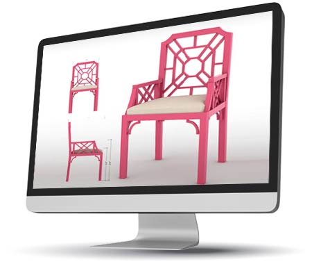 3D CAD Modeling & Isometric Drawings to Furniture Manufacturer, USA