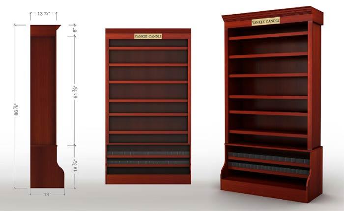 3D Furniture Cabinet Modeling