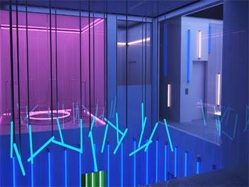 Circle Room 3D Rendering