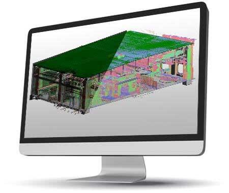 3D BIM Revit Model for a Commercial Building in Europe