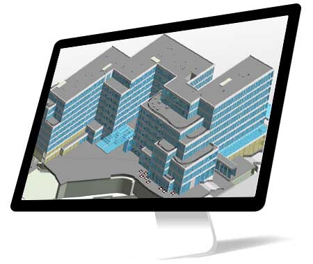 4D BIM Modeling of a Multistorey Mixed-use Building, UK