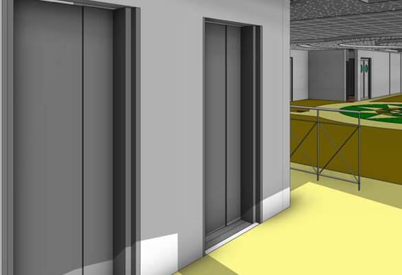 3D CAD Model in Revit