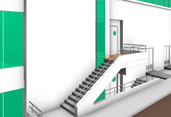 3D Modeling in Revit