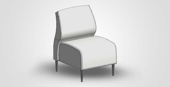 Revit Family Image of Chair