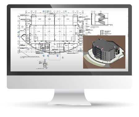 Revit Modeling and Clash Detection for a Data Center Building, India