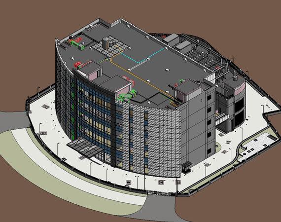 3D Coordinated BIM Modeling