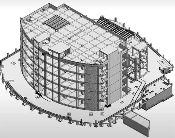 3D Structural BIM Model