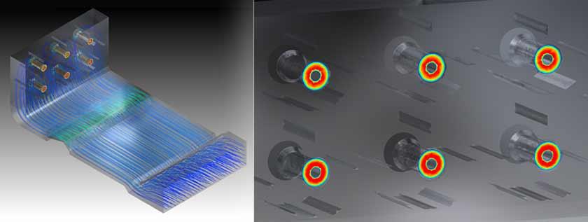 Air Flow Optimization in Industrial Boiler Wind box