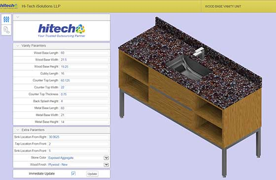 CAD Configurator for Woodworking