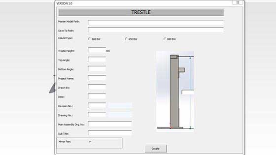 Developed Automation Macro for Autodesk Inventor