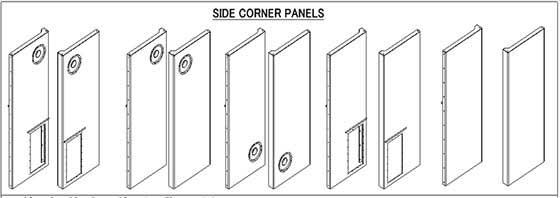Side Corner Panels