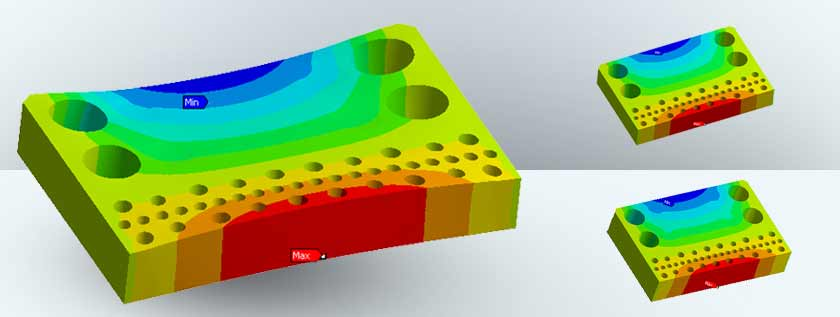 Material Thickness based on Structural Analysis