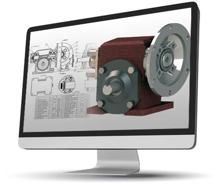 2D to 3D CAD Conversion of Reducer Gear Assembly