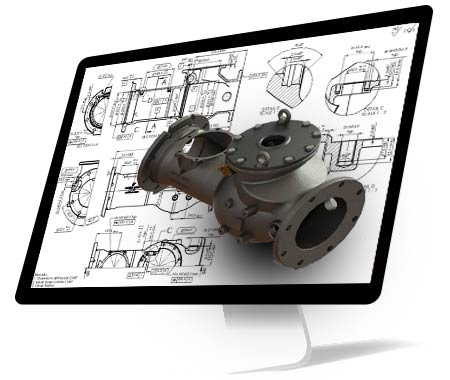 3D Modeling and Detailed Engineering of Casting Component