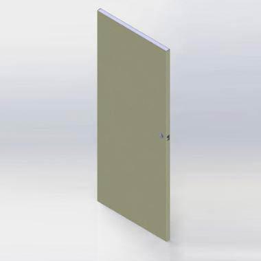 Commercial Door Modeling SolidWorks