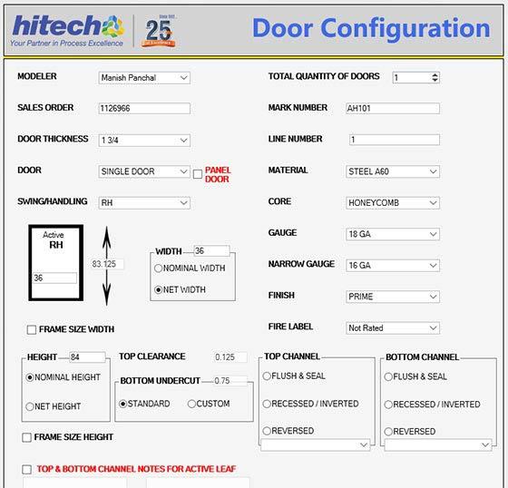 Metal Door Configurator