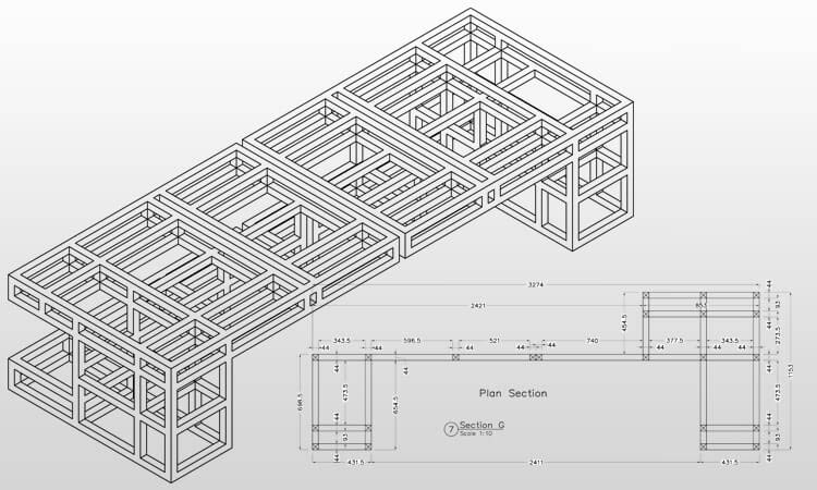 Manufacturing Shop Drawings
