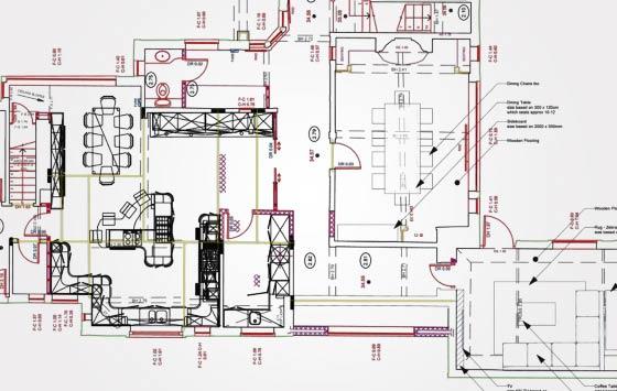 2D Architectural Floor Plan