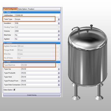 CAD Customization of Process Tank Manufacturers
