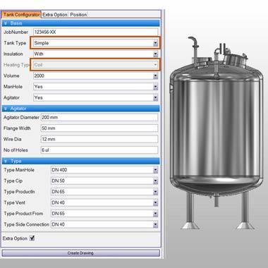 Develop Tank Configurator using Autodesk Inventor