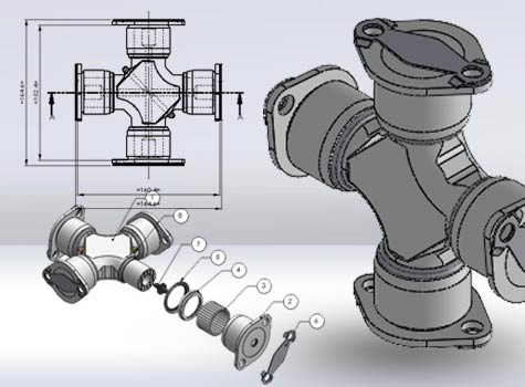 DCAD Drawings of Auto Parts Manufacturers
