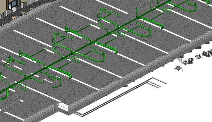 Detailed MEP 3D Model