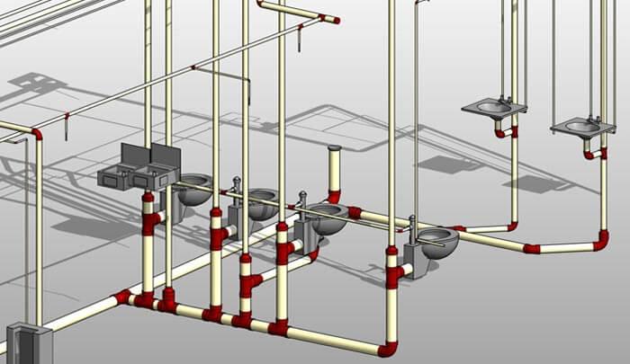Revit MEP 3D Modeling