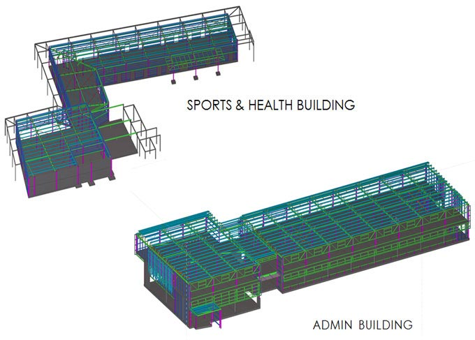 Steel Detailing for Buildings