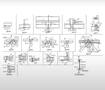 Steel Shop Drawings of Bridge Sections