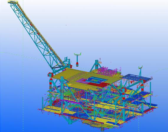 Tekla Structure Detailing Model