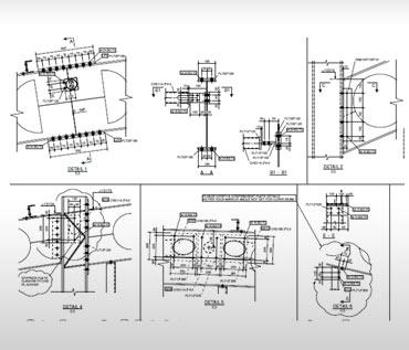 Steel Drawings Detailing