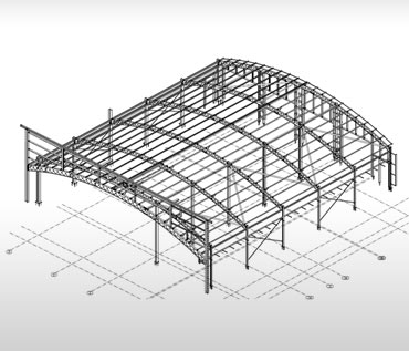Steel Fabrication Drawing