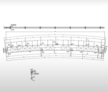 Steel Fabrication Shop Drawing