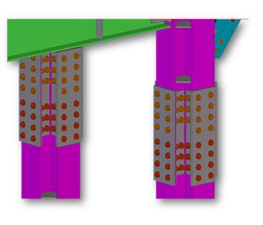 Column Splice Connection Details