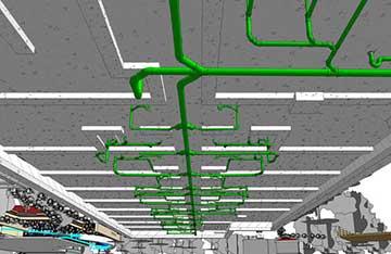 MEP 3D Modeling using Revit