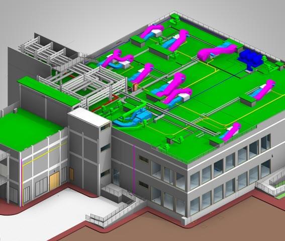 3D BIM Modeling