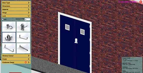 Design Automation for Metal Door Manufacturer, USA